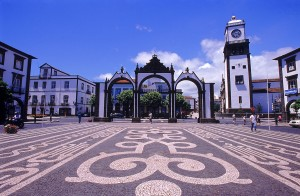 Portas da Cidade, Ponta Delgada. Sao Miguel island