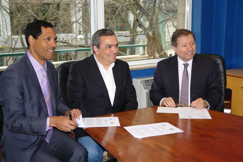 Tasslim Sualehe, Paulo Barreiros e Pedro Costa Ferreira