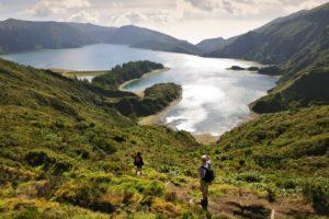 2) Fogo Lake