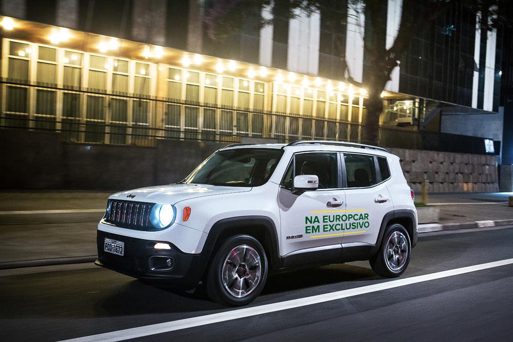 Europcar Com Desconto De 20 No Aluguer Do Jeep Renegade