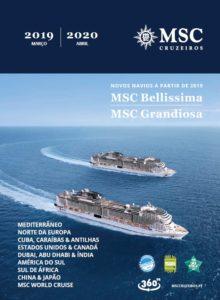 A MSC Cruzeiros lançou o novo catálogo com as novidades para a temporada  2019-2020 d558561e97ca8